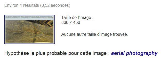 Reconnaissance d'image de Google Captur38