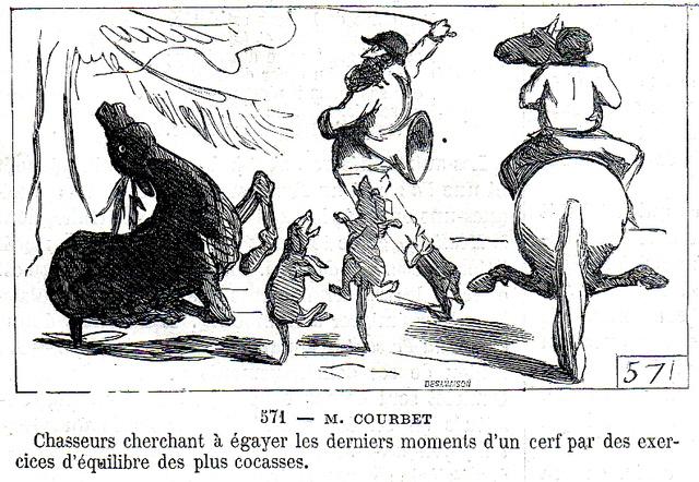 Courbet Gustave: autoportraits, portraits photographiques et caricatures du peintre - Page 3 Cham1810