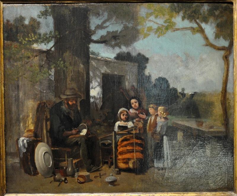 Courbet Gustave : le musée d'Ornans Courbe16