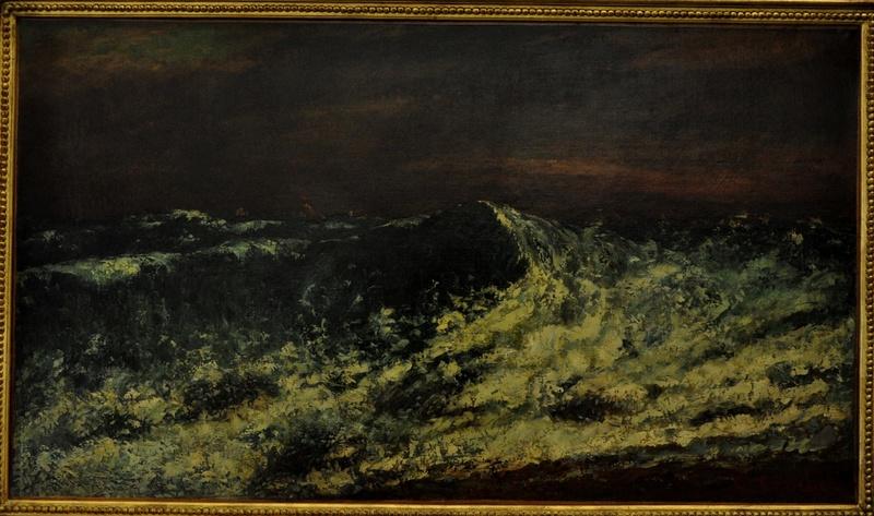 Courbet Gustave : le musée d'Ornans Courbe34
