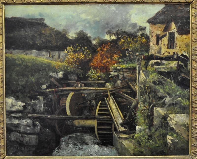 Courbet Gustave : le musée d'Ornans Courbe37