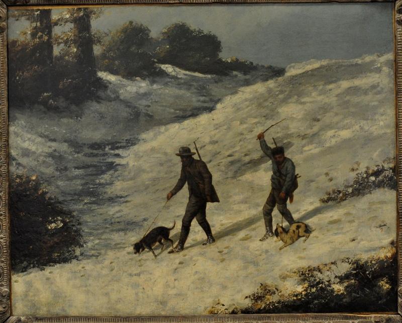 Courbet Gustave : le musée d'Ornans Courbe38
