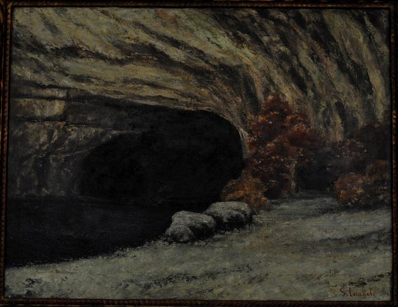 Courbet Gustave : le musée d'Ornans Courbe39