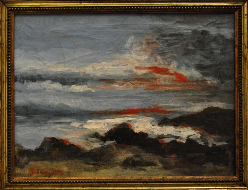 Courbet Gustave : le musée d'Ornans Courbe40