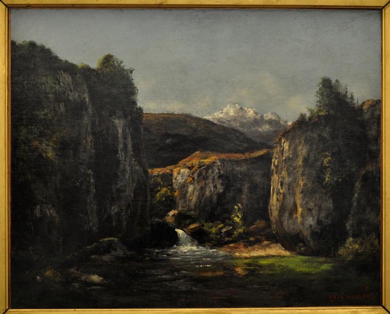 Courbet Gustave : le musée d'Ornans Courbe42