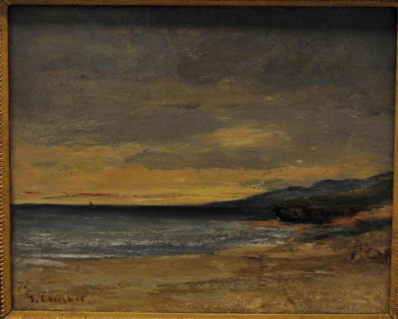 Courbet Gustave : le musée d'Ornans Courbe43