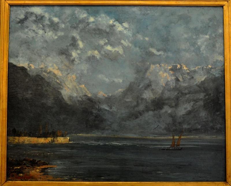 Courbet Gustave : le musée d'Ornans Courbe44