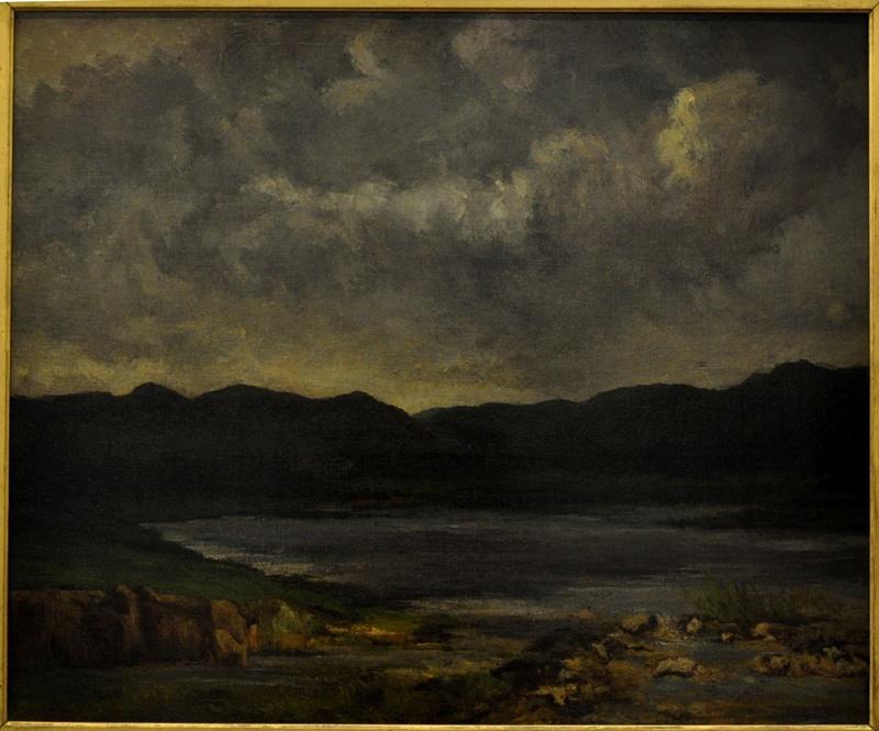 Courbet Gustave : le musée d'Ornans Courbe45