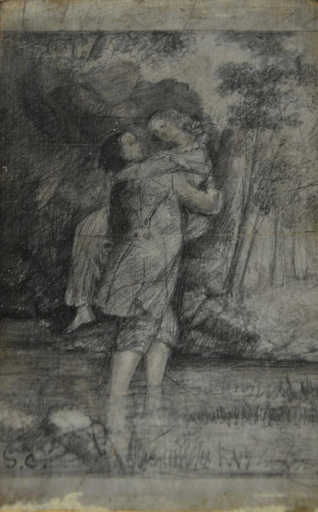 Courbet Gustave : le musée d'Ornans Courbe54