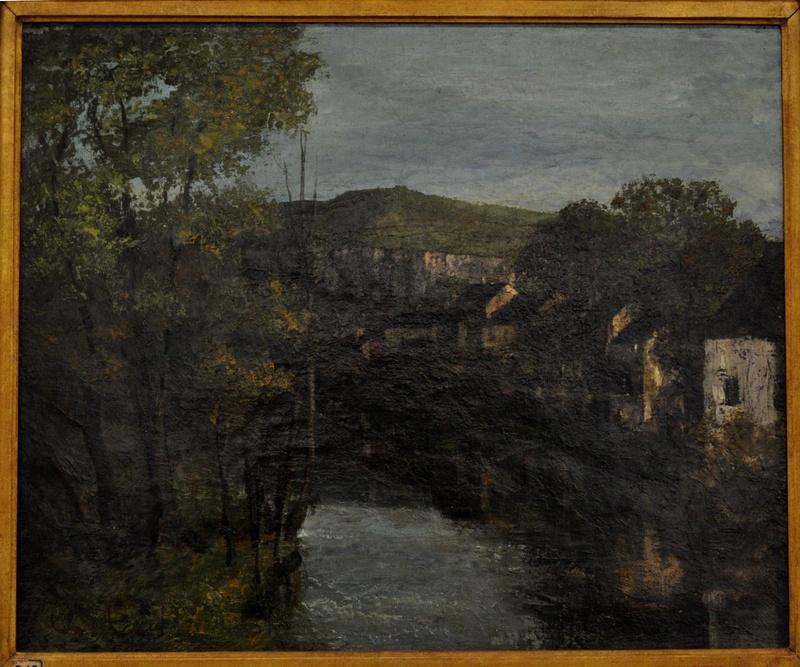 Courbet Gustave : le musée d'Ornans Courbe59