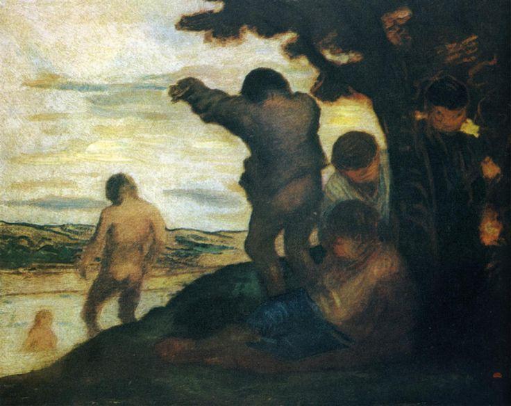 """Manet Edouard, """"Le déjeuner sur l'herbe"""" - Page 6 Daumie11"""