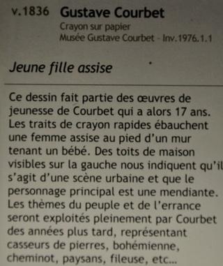 Courbet Gustave : le musée d'Ornans Dsc_0825