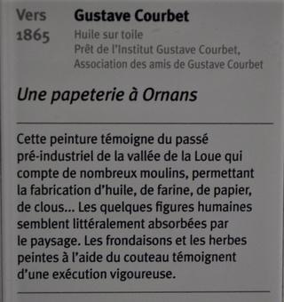 Courbet Gustave : le musée d'Ornans Dsc_0834