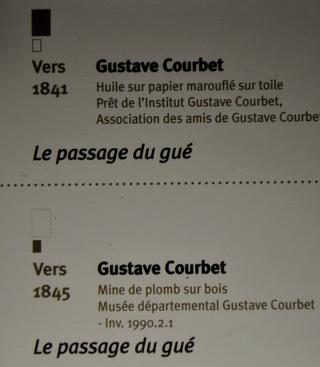 Courbet Gustave : le musée d'Ornans Dsc_0835