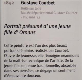 Courbet Gustave : le musée d'Ornans Dsc_0837