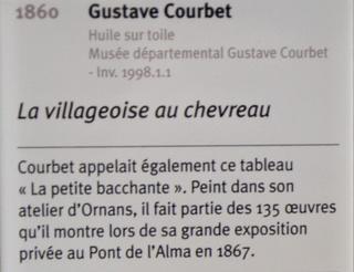 Courbet Gustave : le musée d'Ornans Dsc_0838