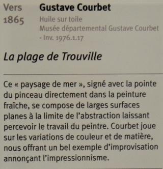 Courbet Gustave : le musée d'Ornans Dsc_0917