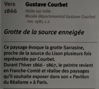 Courbet Gustave : le musée d'Ornans Dsc_0920