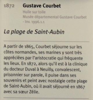 Courbet Gustave : le musée d'Ornans Dsc_0921