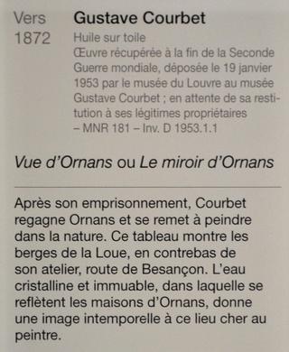 Courbet Gustave : le musée d'Ornans Dsc_0923
