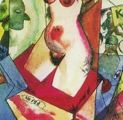 Grosz George, peintre du trou F1010