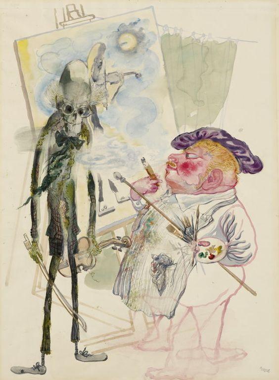 Grosz George, peintre du trou Grosz_68