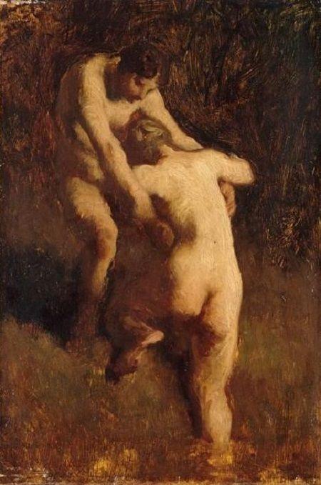 """Manet Edouard, """"Le déjeuner sur l'herbe"""" - Page 6 Millet11"""