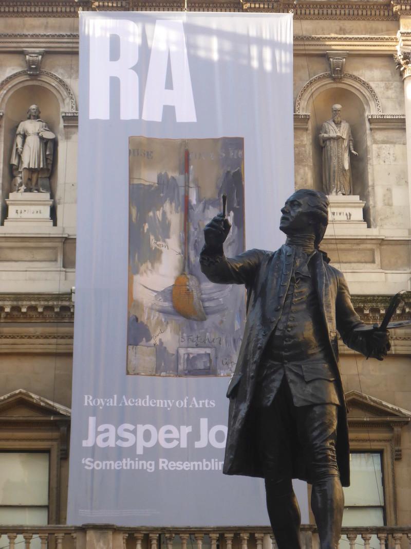Jasper Johns et la remembrance (notes au jour le jour) P1050911