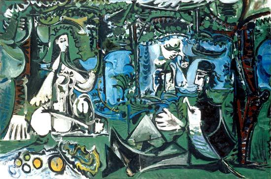 """Manet Edouard, """"Le déjeuner sur l'herbe"""" - Page 4 Picass10"""