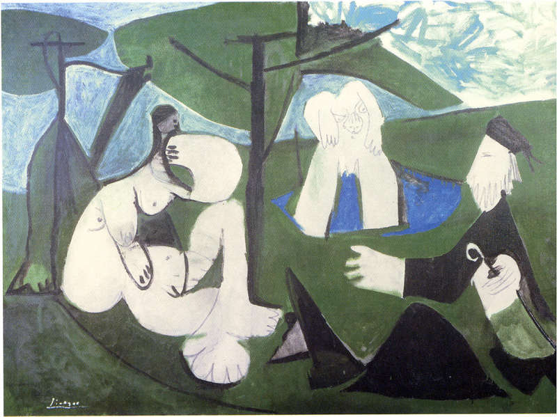 """Manet Edouard, """"Le déjeuner sur l'herbe"""" - Page 4 Picass11"""
