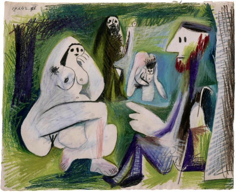 """Manet Edouard, """"Le déjeuner sur l'herbe"""" - Page 4 Picass12"""