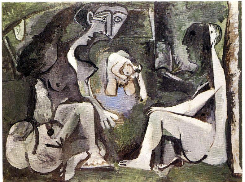 """Manet Edouard, """"Le déjeuner sur l'herbe"""" - Page 4 Picass13"""