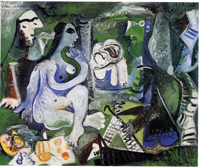 """Manet Edouard, """"Le déjeuner sur l'herbe"""" - Page 4 Picass14"""