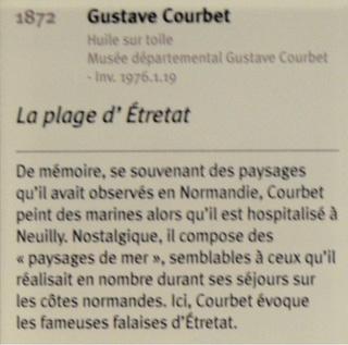Courbet Gustave : le musée d'Ornans Sans_t11