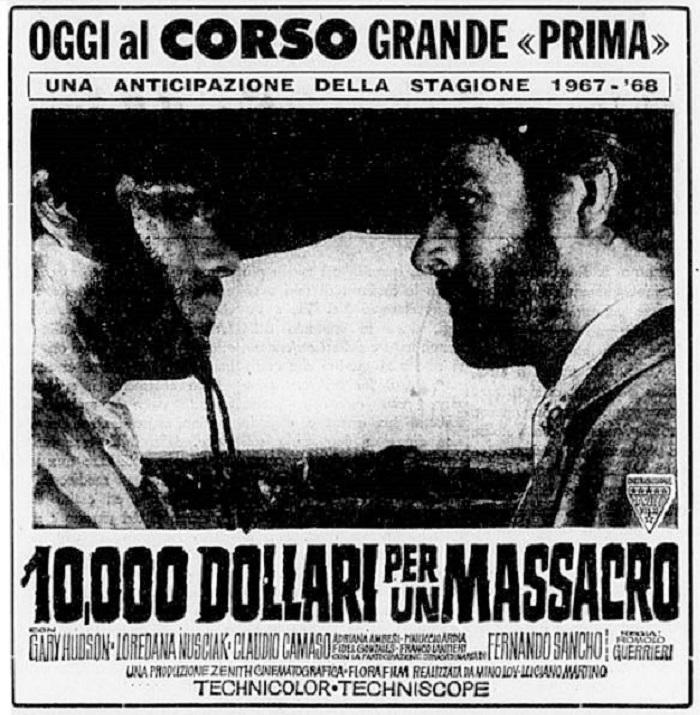 Le Temps des Vautours - 10 000 Dollari per un Massacro - Romolo Guerrieri - 1967 - Page 2 10-00010