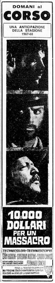 Le Temps des Vautours - 10 000 Dollari per un Massacro - Romolo Guerrieri - 1967 - Page 2 10-00011