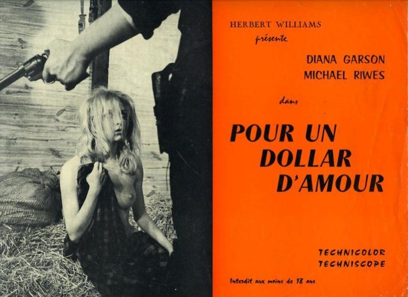Pas d'orchidées pour le shérif . Un dollaro di fuoco. 1965. Nick Nostro. 10057711