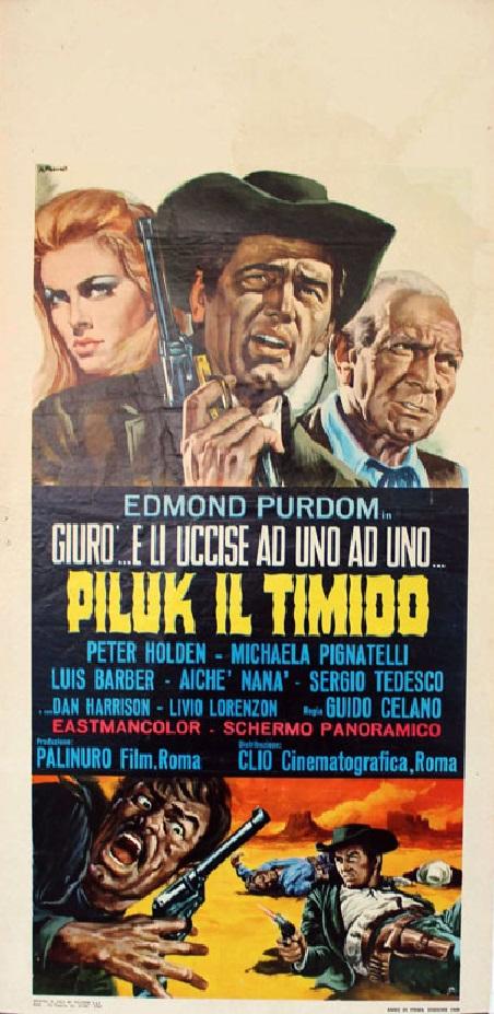 Le justicier du Sud. Piluk il timido. 1967.  Guido Celano. 14680910