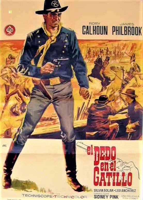Le chemin de l'or - Finger on the Trigger - 1964 - Sidney W. Pink  3290110