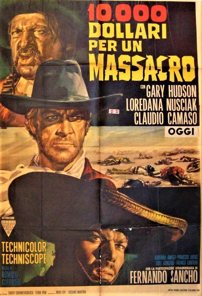 Le Temps des Vautours - 10 000 Dollari per un Massacro - Romolo Guerrieri - 1967 - Page 2 4087310