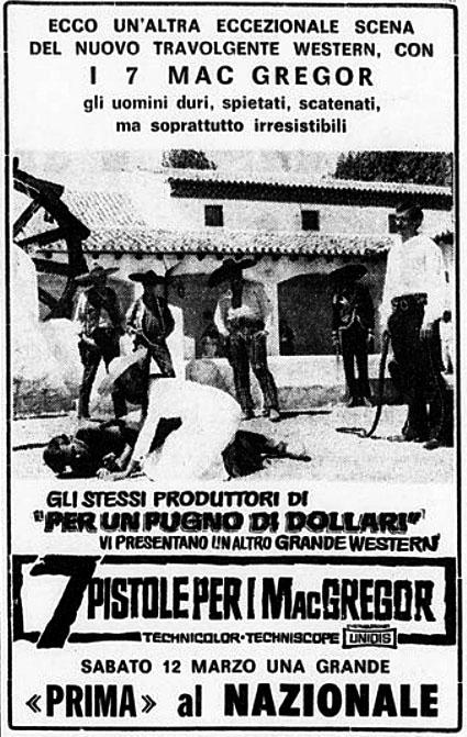 Sept écossais au Texas - Sette pistole per i McGregor - Franco Giraldi, 1965 - Page 2 7-pist10
