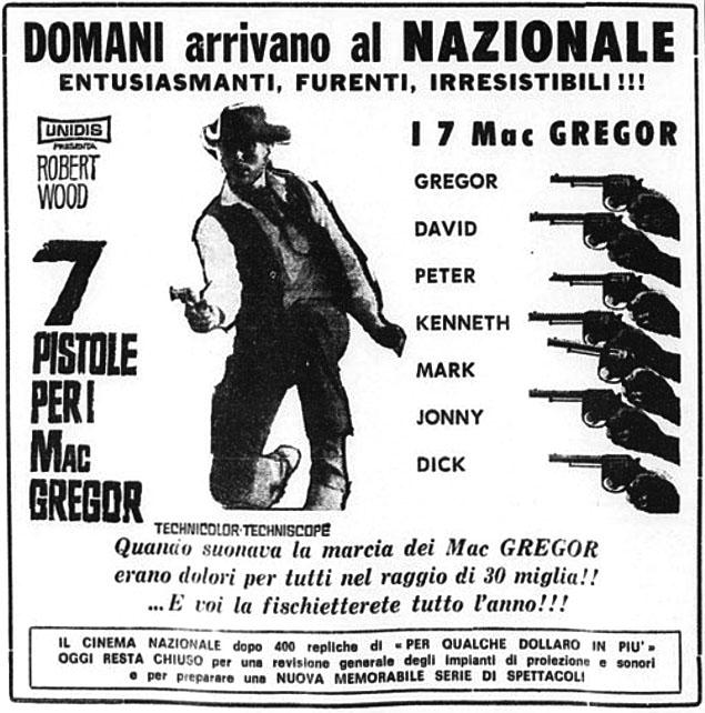 Sept écossais au Texas - Sette pistole per i McGregor - Franco Giraldi, 1965 - Page 2 7-pist12