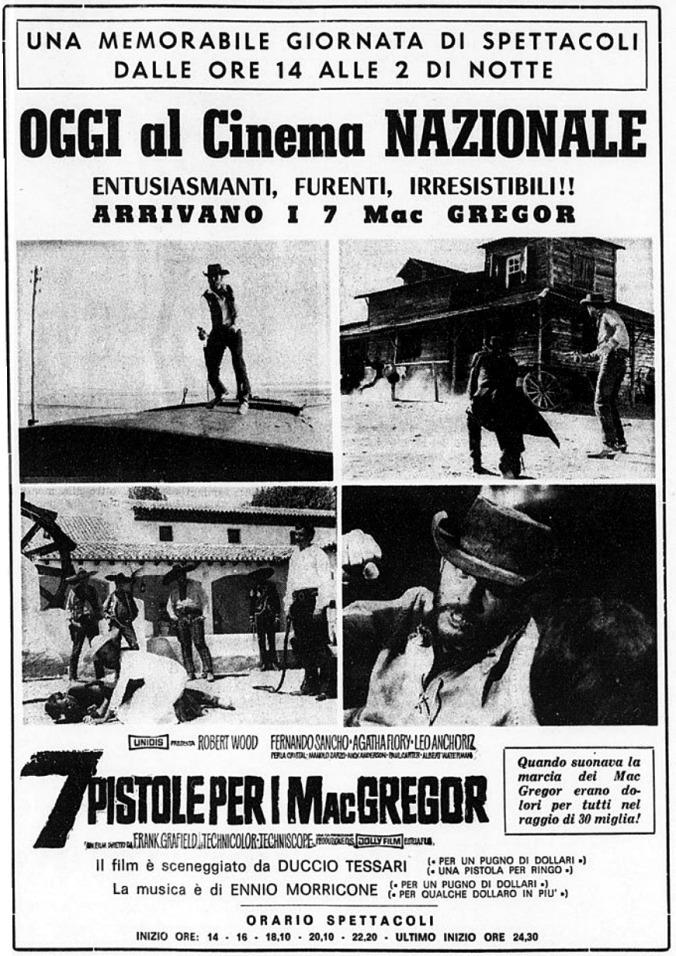 Sept écossais au Texas - Sette pistole per i McGregor - Franco Giraldi, 1965 - Page 2 7-pist13