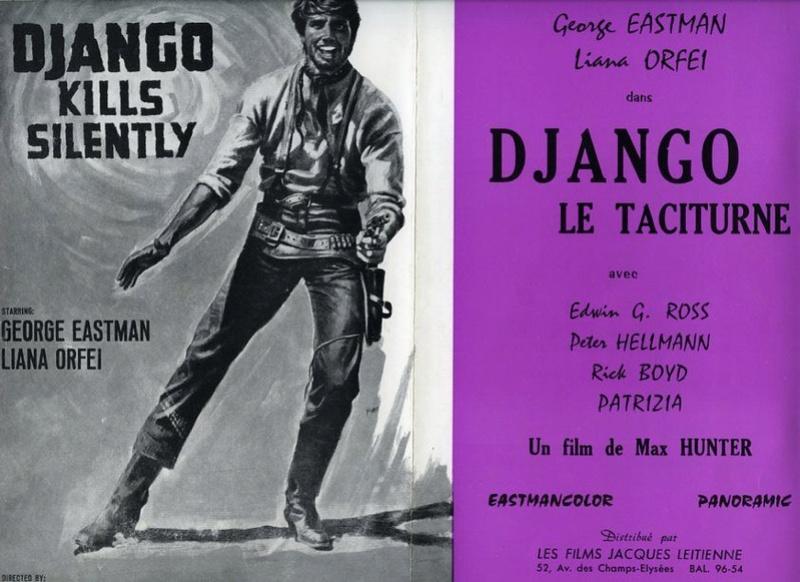 Django le taciturne (Bill il taciturno) - 1969 - Max Hunter (M. Pupillo)  94758510