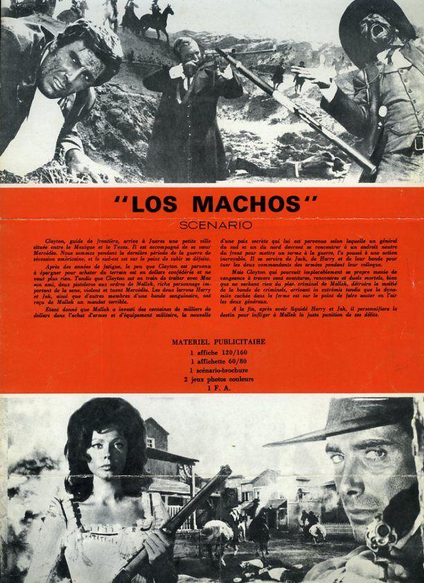 Los Machos - Uno die piu' all 'inferno - Giovanni Fago - 1969 95858911