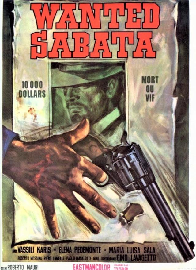 Wanted Sabata –1970- Roberto MAURI 96397810
