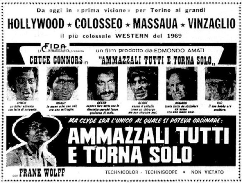 Tuez-les tous... et revenez seul ! - Ammazzali Tutti e torna Solo - 1968 - Enzo G. Castellari - Page 2 Ammazz10