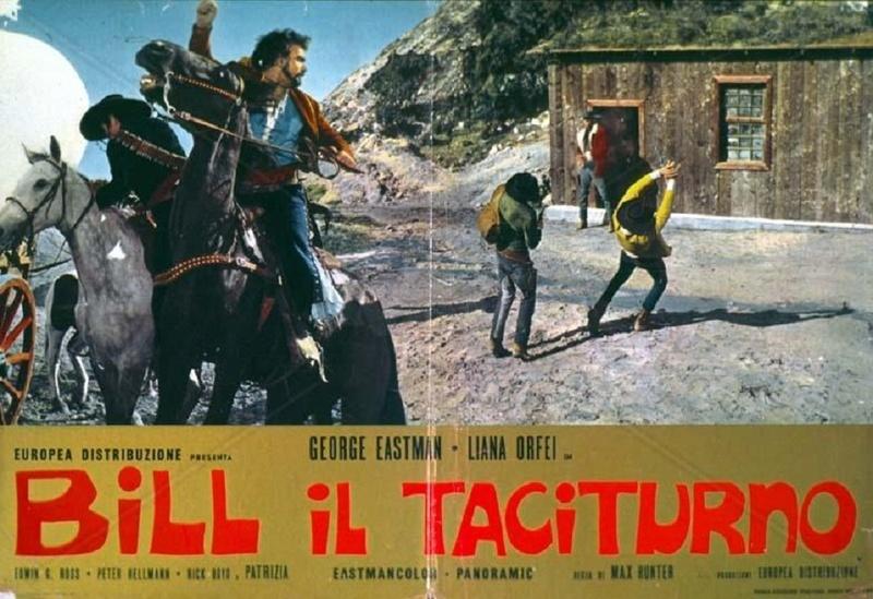 Django le taciturne (Bill il taciturno) - 1969 - Max Hunter (M. Pupillo)  Bill_i10
