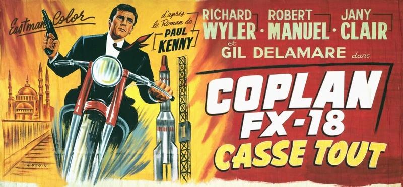 Coplan FX 18 casse tout - Objetivo:¡Matar! - Riccardo Freda , 1965 Coplan10