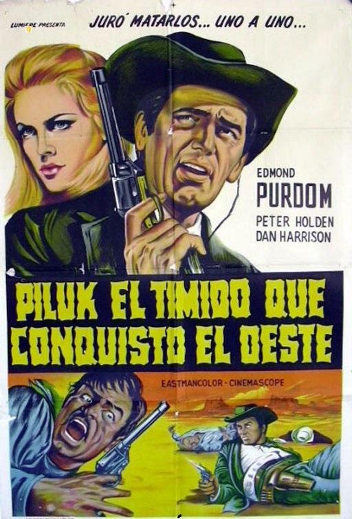 Le justicier du Sud. Piluk il timido. 1967.  Guido Celano. Cover_10